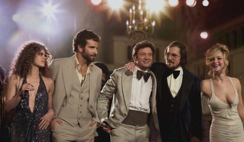"""""""American Hustle,"""" directed by David O. Russell Pure moviemaking exuberance, though not for anyone interested in the specifics of the Abscam sting operation. -- Michael Phillips Read the """"American Hustle"""" movie review"""