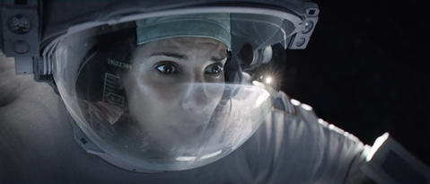 """""""Gravity,"""" directed by Alfonso Cuarón. Read the """"Gravity"""" movie review"""