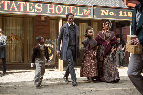 """""""12 Years a Slave,"""" directed by Steve McQueen A remarkable, steady gaze of a movie about unspeakable injustice. Chiwetel Ejiofor and Lupita Nyong'o lead a remarkable ensemble. -- Michael Phillips Read the """"12 Years a Slave"""" movie review"""