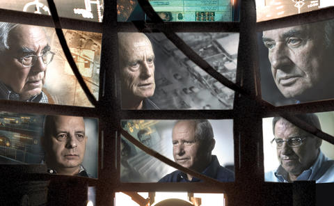 """""""The Gatekeepers,"""" directed by Dror Moreh Former heads of the Israeli Shin Bet intelligence agency reflect on Middle East peace and war, in the latest rebuke to the notion that a talking-heads doc can't possibly work as cinema. -- Michael Phillips"""