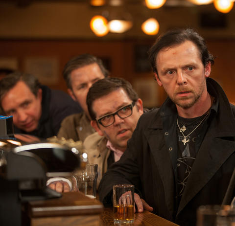 """""""The World's End,"""" directed by Edgar Wright. Read the """"The World's End"""" movie review"""