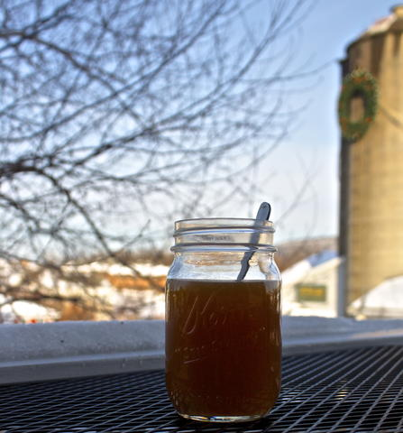 Price: $7.25  Ingredients: Local cider, apple bourbon  A warm, spiked cider is a staple for a cold Connecticut day.