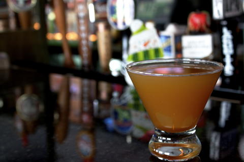 Price: $9  Ingredients: Stoli salted caramel vodka, fresh local cider, sour apple liquor  If you're looking for a holiday cocktail that doesn't have a strong alcohol taste but isn't too dessert-like, this is a go-to.