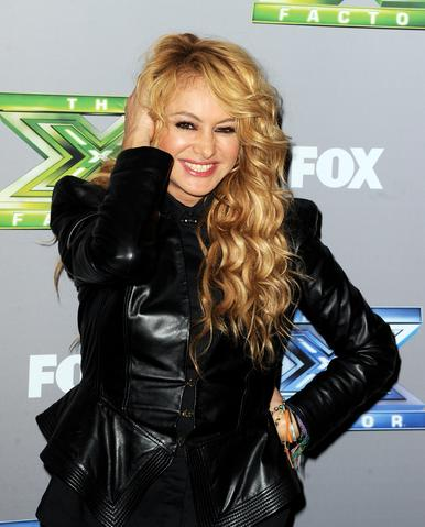 "Singer Paulina Rubio poses at Fox's ""The X Factor"" Season Finale at CBS Television City on December 19, 2013 in Los Angeles, California."