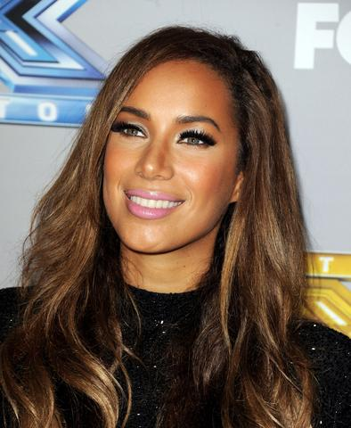"Singer Leona Lewis poses at Fox's ""The X Factor"" Season Finale at CBS Television City on December 19, 2013 in Los Angeles, California."