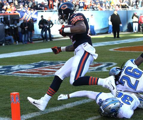 Matt Forte: The focus, for good reason, is on a high-powered passing game but all the while running back Forte has put together a career season in an offense that accentuates his many strengths.