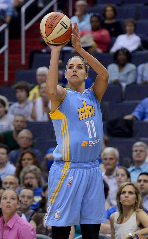 Elena Delle Donne: Perhaps no Chicago athlete dominated more consistently than WNBA star Elena Delle Donne of the Sky.