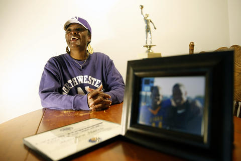 Tina Harris: Football moms don't come any more resilient than Tina Harris. She overcame an abusive marriage, severe depression and homelessness to help son Matthew emerge as a smart, cheerful kid -- and Northwestern's best freshman.