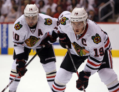 Jonathan Toews and Patrick Sharp: Kindergarteners in Lakeview to grandparents in Hyde Park, they all know hockey now thanks to Jonathan Toews and Patrick Sharp. The city's dynamic duo reignited excitement about the NHL in Chicago.