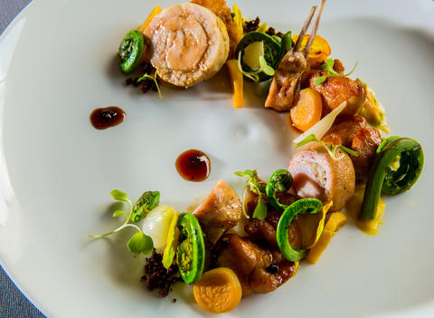Although if you can resist the rest of the menu - the veal sweetbreads with rabbit saddle was one of our favorite dishes of the year - your resolve is stronger than ours. Read Phil Vettel's review of Brindille. Brindille 534 N. Clark St., 312-595-1616, brindille-chicago.com Read Phil Vettel's review of Naha. Naha 500 N. Clark St., 312-321-6242, naha-chicago.com