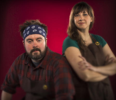 Christine Cikowski and Josh Kulp - Chefs/owners, Honey Butter Fried Chicken Lucky for Chicago, enough fried chickens came to light in 2013 to assess a year-end inventory. Among contenders: Smalls Smoke Shack & More, Endgrain, Parson's Chicken & Fish, all worthy of hosannas, but our hands-down favorite this past year came from Avondale's Honey Butter Fried Chicken. Its masterminds, Christine Cikowski and Josh Kulp, evolved their roving underground Sunday Dinners into a wholly original concept: a line up, sit-down brick-and-mortar serving boutique picnic food. At the center is that wondrous fried chicken - boneless, skin-on thigh and breast (whole drumsticks too), double-battered to a loud crunch, dusted with smoked paprika and reminiscent of Spanish chorizo. (Cont.)