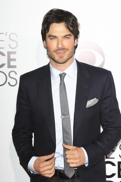 Actor Ian Somerhalder.