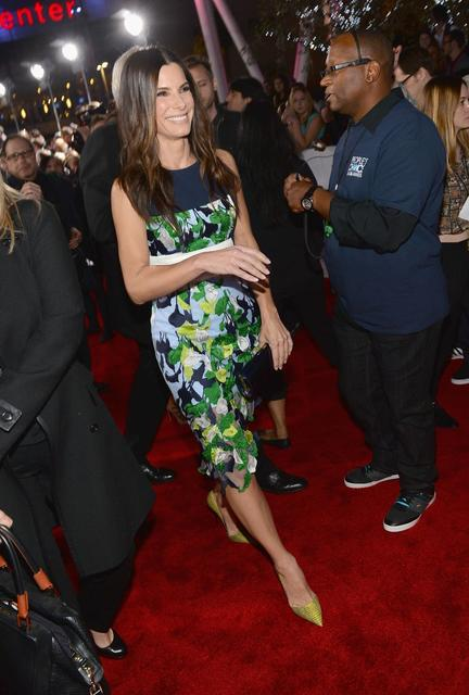 """Gravity"" actress Sandra Bullock."