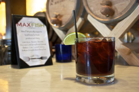 Price: $9, $5 at happy hour  Ingredients: 2 oz Amaro Ramazotti, 2 oz Hosmer Mountain Ginger Beer, Lime Wedge. Combine all ingredients in an ice filled lowball and garnish with a lime wedge.  Max's play on the popular Moscow Mule, this drink has a strong earthiness.