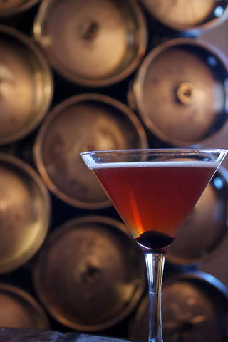 Price: $11 Ingredients: Infused bourbon, antica formula, angostura bitters, a luxardo maraschino cherry This martini may be cold, but the bourbon will warm you right up as the temperatures drop.