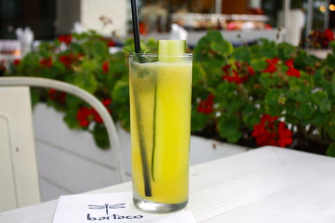 Port Chester Reviver Price: $9 Ingredients: Miller's Gin, Cucumber, Mint, Mango Nectar, Lime Juice One of the bar's best sellers, the Reviver is incredibly refreshing with the pairing of cucumber and mint a smooth chill on a hot day.