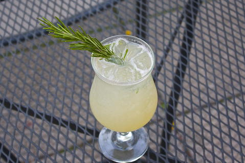 Pear Rosemary Spritzer  Price: $9  Ingredients: Grey Goose au Poire, fresh rosemary, pear nectar and fresh lime juice topped with club soda  The hit of fresh rosemary brings you right to a smell of the holiday season that is creeping up quickly.