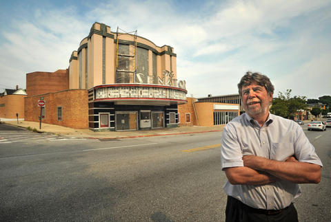Owner Buzz Cusack is overseeing the renovation of the Senator Theatre.