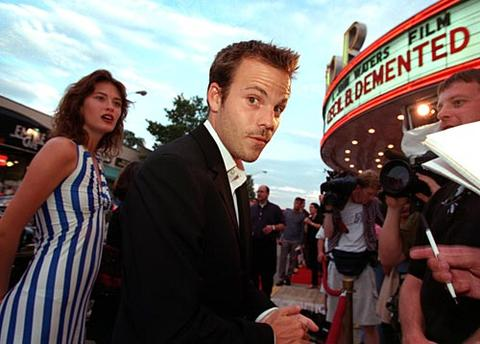 "Star Stephen Dorff arrives at the Senator Theater for the premiere of John Waters' film, ""Cecil B. Demented."""
