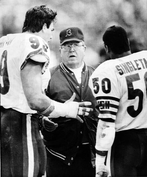 Bears Hall of Famer Mike Singletary -- Chicago Tribune