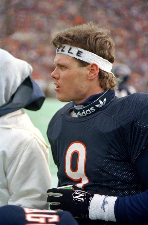 Former Bears QB Jim McMahon -- Chicago Tribune