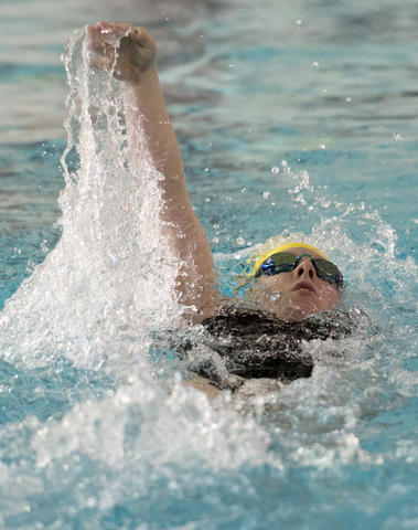Emmaus competes against Central Catholic in their Lehigh Valley Conference High School swimming meet at Emmaus on Thursday.