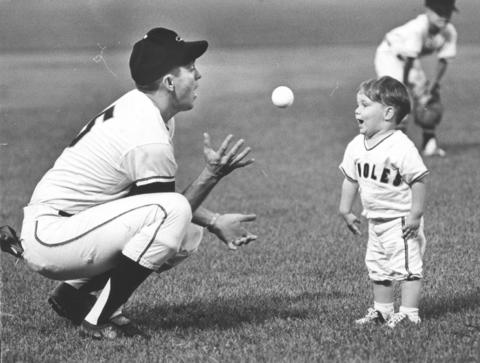 To watch Brooks Robinson play third base, which he did for the Orioles from 1955 to 1977, was to observe perfection. The man could hit, too, but it was his glove that earned him a place in baseball's Hall of Fame, and in the hearts of Orioles fans everywhere.