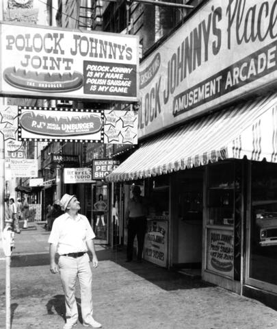 "Since 1921, the slogan ""Polock Johnny's is my name; Polish sausage is my game"" has been a sure sign of good food to be had in Baltimore. It used to be that Polock Johnny's were everywhere: Lexington Market, Towson, Hampden, Greenmount Avenue, Ocean City. Now only two remain, at Security Square Mall and inside Oriole Park at Camden Yards. Still the best Polish sausages anywhere, and ordering one with the works is as close to gustatory heaven as you'd want to get."