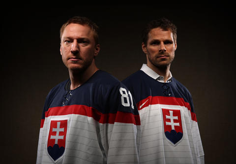 Marian Hossa and Michal Handzus will be representing Slovakia in the Sochi Winter Olympics.
