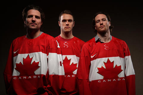 Patrick Sharp, Jonathan Toews and Duncan Keith will be representing Canada in the Sochi Winter Olympics.