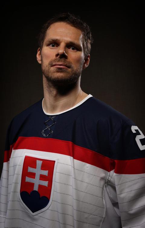 Michal Handzus will be representing Slovakia.