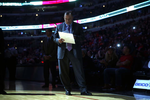 Bulls coach Tom Thibodeau before Tuesday's home game.