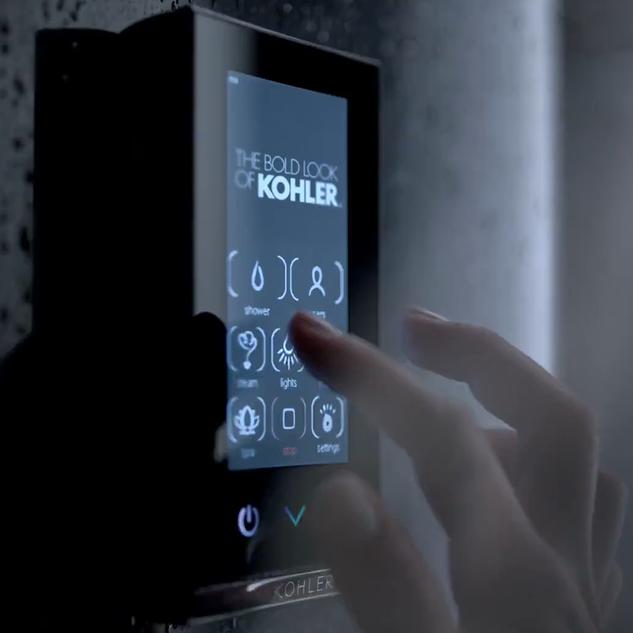 Elmhurstu0027s UICO, Kohler Produce Touch Controlled Shower System
