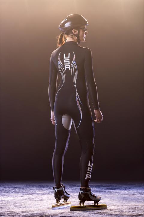 Short track suit