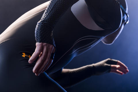 Long track suit: Under Armour and Lockheed Martin teamed up to develop this new suit for the U.S. speedskating team competing in the Sochi Olympics.