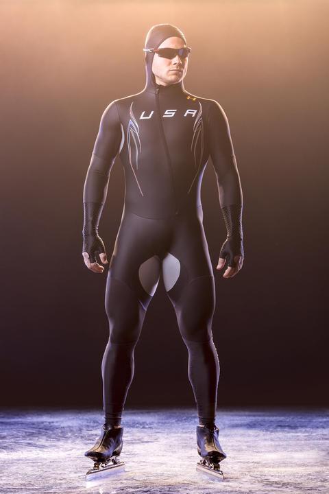 Long track suit