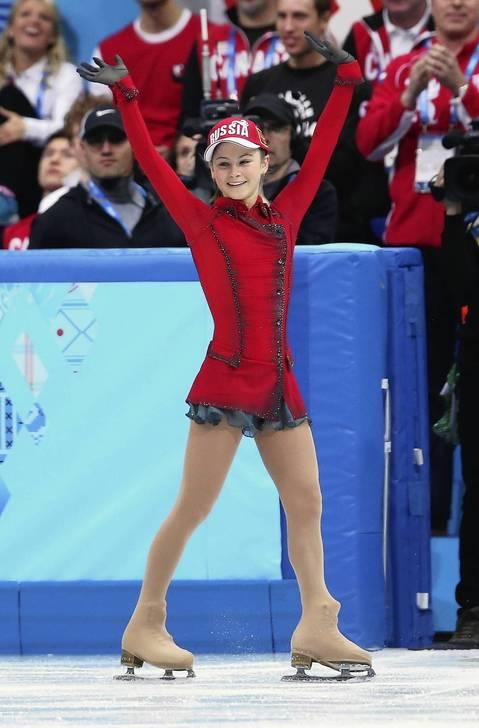 Yulia Lipnitskaya Gold Medal Lipnitskaya emerges as...