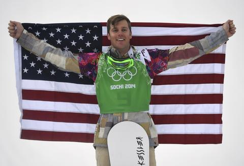 ALEX DEIBOLD: Bronze medal, men's snowboard cross.