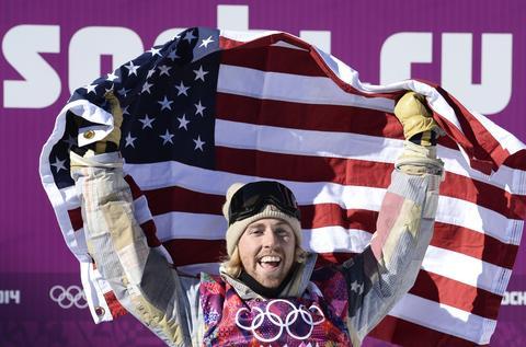 SAGE KOTSENBURG: Gold medal, men's snowboard slopestyle.