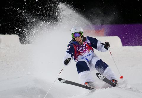 HANNAH KEARNEY: Bronze medal, women's skiing moguls.