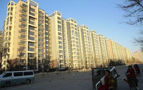 The Tiantongyuan housing complex in Beijing.