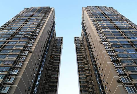 A residential tower in the Tiantongyuan housing complex, one of the largest in Beijing.