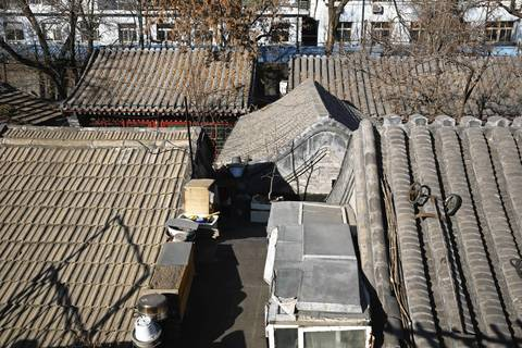 The Paoju Hutong in Beijing.