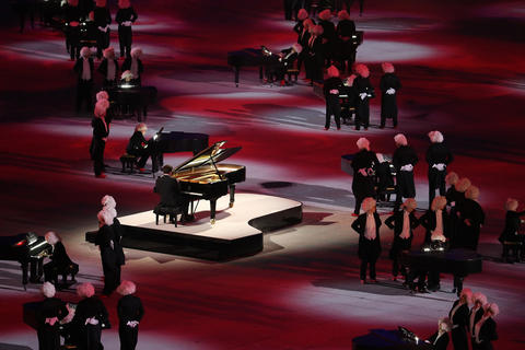 A tribute to Russia's classical music heritage during the 2014 Sochi Winter Olympics Closing Ceremony.