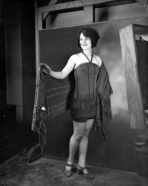 Miss Chicago Margaret Leigh came in fourth place at the Atlantic City Miss America beauty contest, the most prestigious beauty contest in America, in September of 1924.