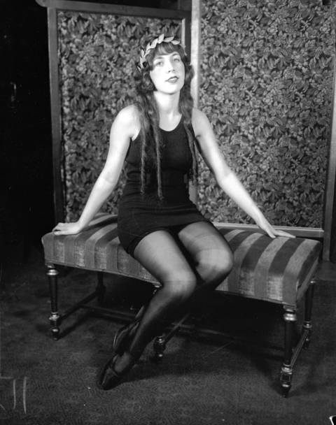Miss Chicago of 1925, Margarita Gonzales, circa 1925. Gonzales was a candidate for the national title at the Atlantic City beauty contest in 1925, but was eliminated in the first round.