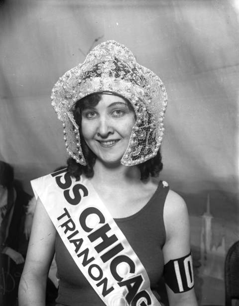 On Aug. 2, 1926, Mae Greene, 18, was chosen as Miss Chicago 1926 out of 4,000 rivals at the Trianon Ballroom in Chicago. She went on to represent Chicago at the Atlantic City Miss America beauty pageant on Sept. 7, 1926.