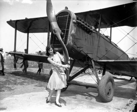 On Aug. 2, 1926, Mae Greene, 18, was chosen as Miss Chicago 1926.
