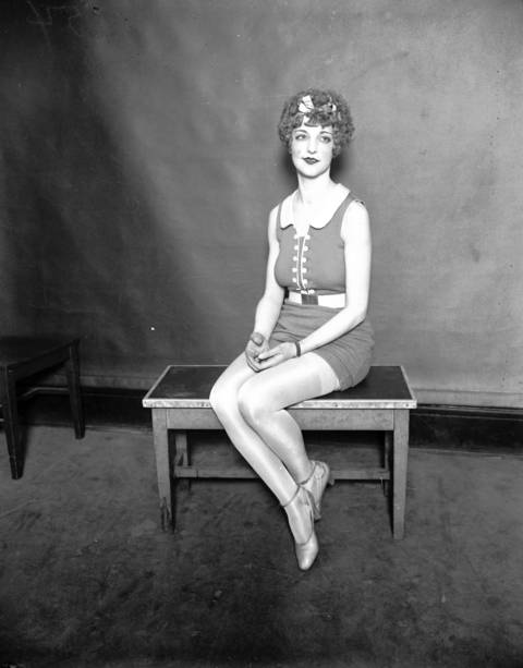 Maebelle Soller at the Miss Chicago contest, circa Aug. 31, 1926.