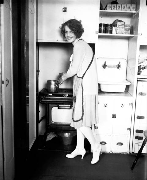 Miss Myrtle Christine Valsted, 17, was Miss Chicago in 1927.